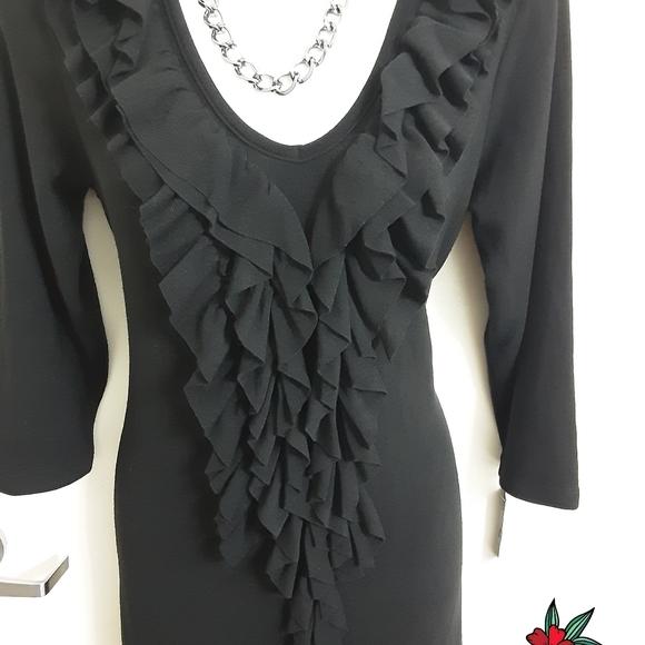 Forever 21 Dresses & Skirts - Forever 21 Long Sleeve Black Dress Size M. New